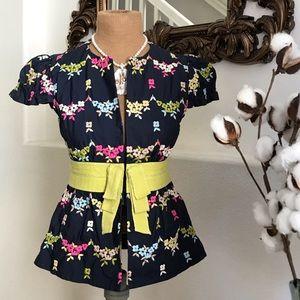 Nanette Lepore floral top